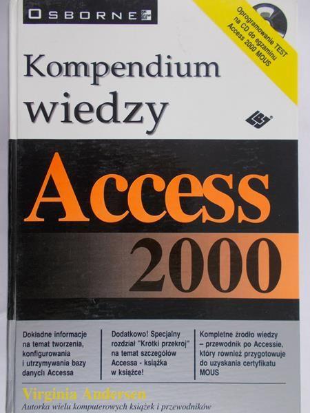 Andersen Virginia - Access 2000.