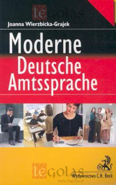 moderne deutsche amtssprache joanna wierzbicka grajek z. Black Bedroom Furniture Sets. Home Design Ideas