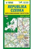 Czechy mapa 1:500 000 samochodowa PIĘTKA