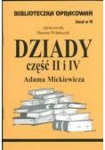 Biblioteczka opracowań nr 019 Dziady cz. II i IV