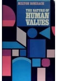 The nature of human Values