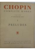Preludes I, 1949 r.