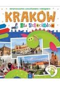 Kraków dla dzieciaków Miniprzewodnik z pocztówkami i naklejkami