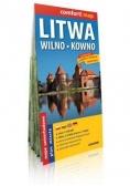 Comfort!map Litwa, Wilno, Kowno 1:700 000 mapa