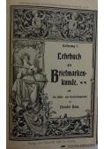Lehrbuch der Briefmarken kunden, 1905 r.