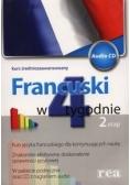 Francuski w 4 tygodnie Etap 2 z płytą CD