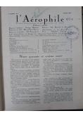 L' Aerophile, 1933 r.