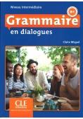 Grammaire en dialogues Niveau intermediaire B1 + CD MP3