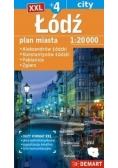 Łódź +4 mapa samochodowa XXL