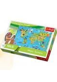 Mapa Świata dla dzieci TREFL