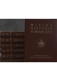 Wielka Historja Powszechna, zestaw 7 tomów, reprint z 1934 r.