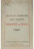 Le plus familier des saints Vincent de Paul, 1947 r.