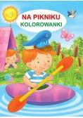 Kolorowanka - Na pikniku