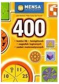 400 testów IQ, łamigłówek, zagadek logicznych...