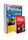 Atlas samochodowy  Polska dla prof. 2017/18