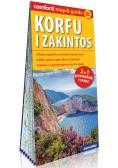 Korfu i Zakintos laminowany map&guide XL (2w1: przewodnik i mapa)