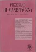 Przegląd humanistyczny