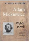 Klasyka mistrzów. Adam Mickiewicz. Wybór poezji