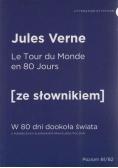W 80 dni dookoła świata w. francuska + słownik