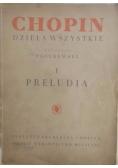 Chopin - Dzieła wszystkie I Preludia,1949 r.