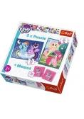 Puzzle 2w1+ memos - Przyjaźń to magia TREFL