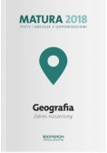 Matura 2018 Geografia. Testy i arkusze ZR