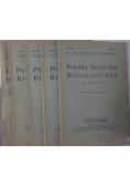 Polski słownik biograficzny, 5 zeszytów, 1937 r.