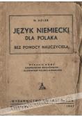 Język niemiecki dla polaka. Rozmówki i słownik, 1942 r.