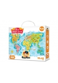 Puzzle - Mapa świata