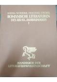 Die Romanischen literaturen des... , 1930 r.
