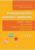 Funkcjonowanie osobiste i społeczne - Lato KP