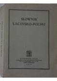 Słownik łacińsko -polski, 1925 r.