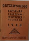 Katalog znaczków pocztowych polskich 1948r