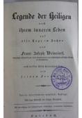 Legende der Heiligen, 1843 r.