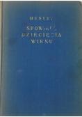 Spowiedź dziecięcia wieku, 1920 r.