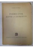 Podręcznik języka czeskiego, 1949 r.