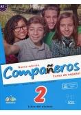 Companeros 2 Podręcznik + klucz dostępu