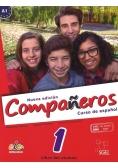 Companeros 1 podręcznik + licencia digital  nueva edicion, Nowa