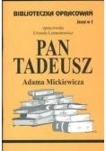 Biblioteczka opracowań nr 002 Pan Tadeusz