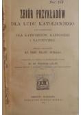 Zbiór przykładów dla ludu katolickiego, 1911 r.