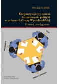 Korporatystyczny system formułowania polityki w państwach Grupy Wyszehradzkiej