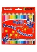 Kredki Magic 24 kolory KAMABEN