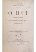 O byt, 1903 r.