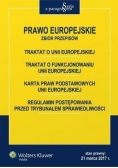 Prawo Europejskie. Zbiór przepisów