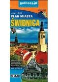 Plan miasta - Świdnica, powiat Świdnicki 1:9 000