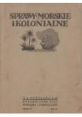 Sprawy Morskie i Kolonjalne,1936 r.