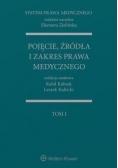 Pojęcie, źródła i zakres prawa medycznego T.1