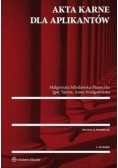 Akta karne dla aplikantów w.2