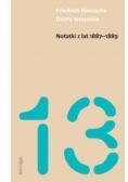 Notatki z lat 1887-1889 - F. Nietzsche