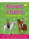 Konie i kuce. Książka pełna zabaw 1